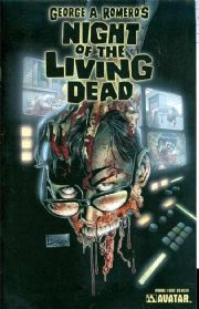 Night Of The Living Dead Annual #1 Gore Variant Cover Avatar comic book